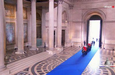 Hommage solennel de la Nation à Simone et Antoine VEIL