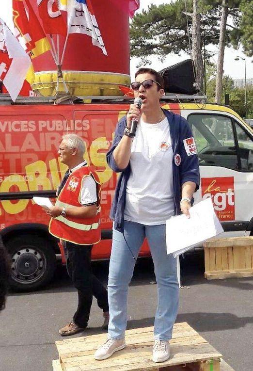 Intervention d'Isabelle BIGAND VIVIANI devant le MEDEF et dans les entreprises du 94