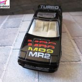 TOYOTA MR2 MC TOY 1/64 - car-collector.net