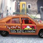 CITROEN BX RALLY SAFARI GUISVAL 1/64 - car-collector.net