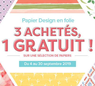 Papier Design en folie !
