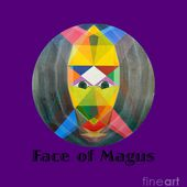 Face Of Magus Text by Michael Bellon