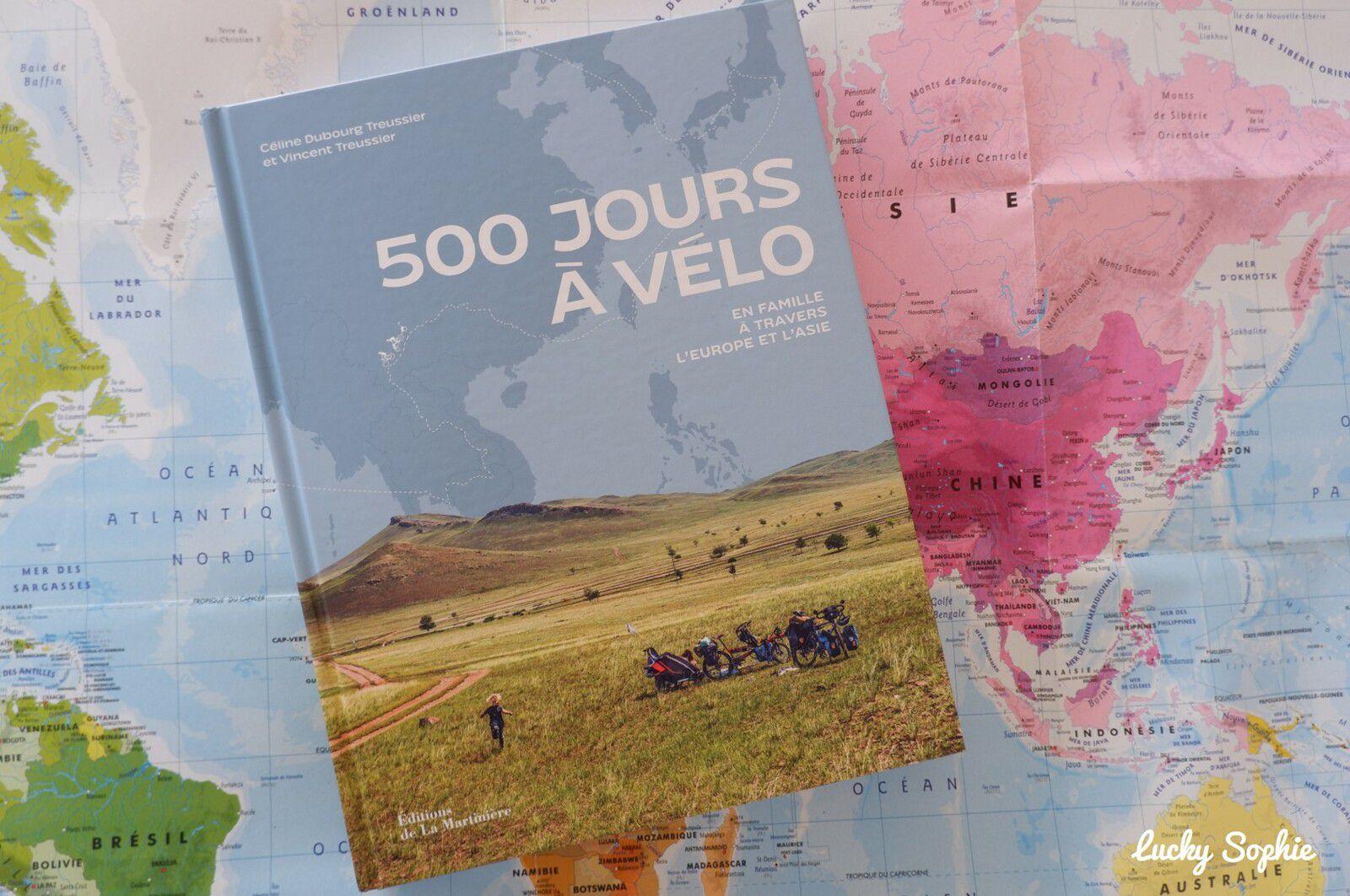 500 jours à vélo en famille en Europe et en Asie