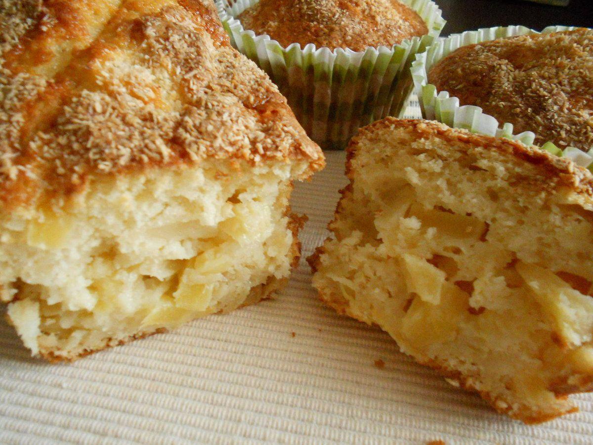 Cake Ananas-coco au lait fermenté