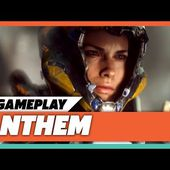 Anthem Gameplay Reveal on Xbox One X at E3 2017 | Microsoft Press Conference