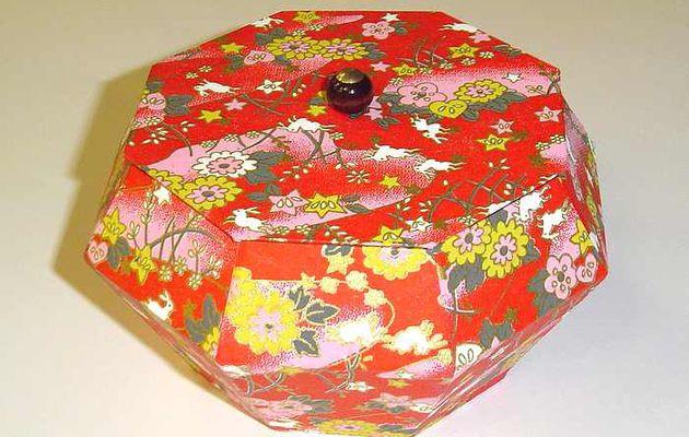 La boîte japonaise d'Odile ...