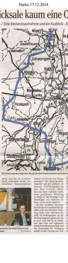 Harke 17.12.14 -- mögliche Südlink-Trassen durch Kreis Nienburg