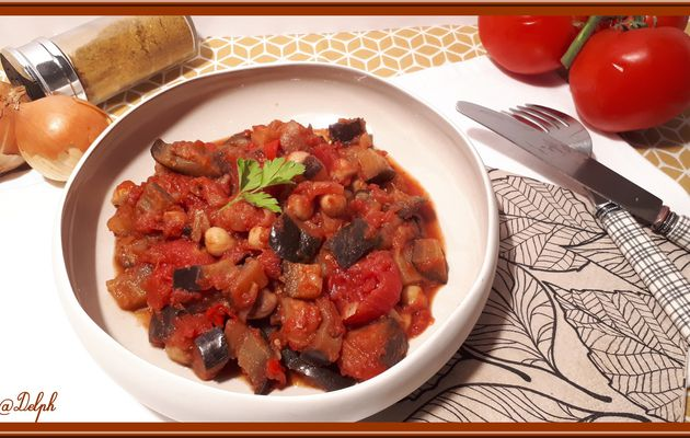 Curry d'Aubergine
