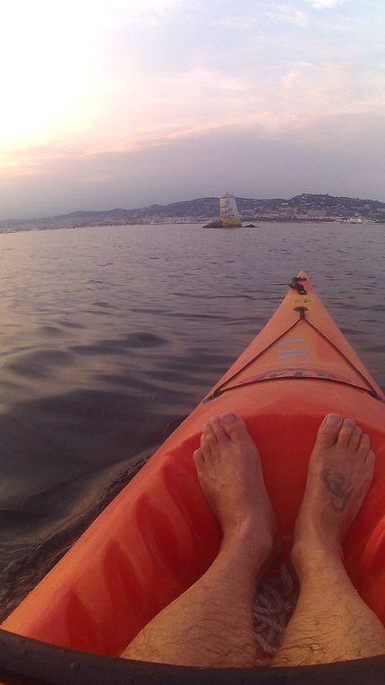 Week-end Kayak aux Lérins...