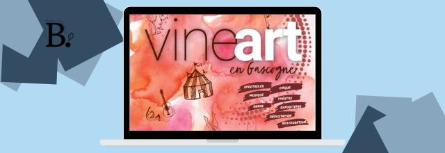 VINEart en Gascogne - l'évènement de l'été