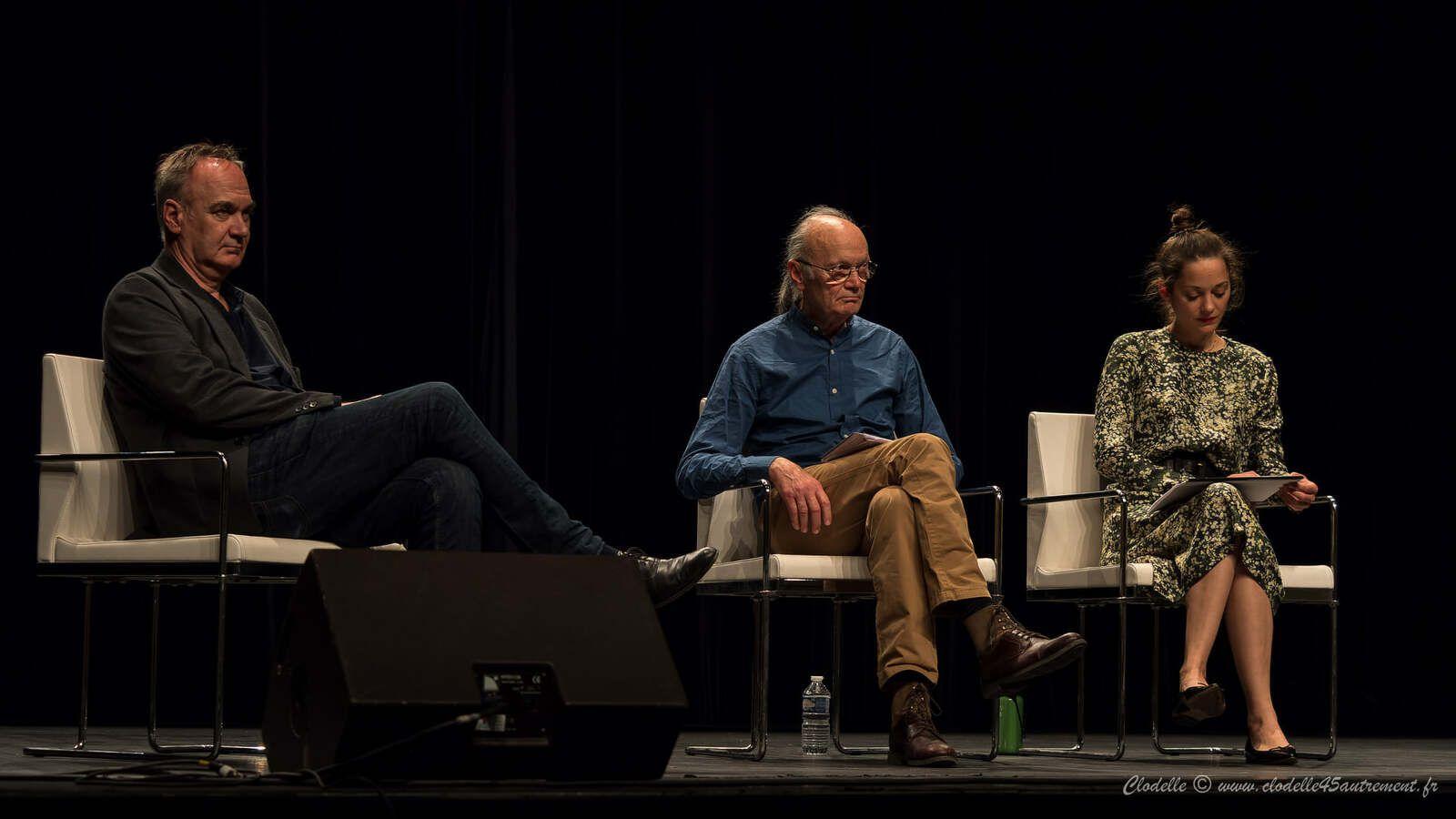 Marion et Jean-Claude COTILLARD : lecture au FESTIVAL LITT'ORAL