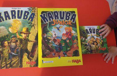 Nos 3 jeux Karuba - Haba