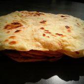 Tortillas ou galettes de blé