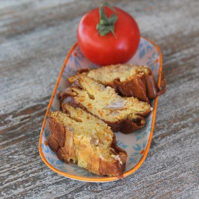 Flan carottes, poulet et gorgonzola IG bas et même cétogène