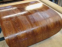 Eames : réfection sellerie & vernis