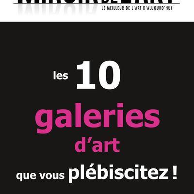 Quelles sont les galeries d'art que vous admirez ?