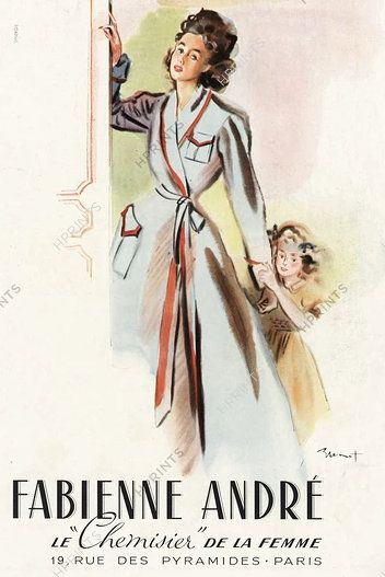 PUBLICITES : LES GRANDS NOMS DE L'AFFICHE... RAYMOND BRENOT, LE DESSINATEUR DE LA FEMME...