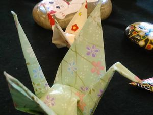 Ateliers d'origami avec Koyo