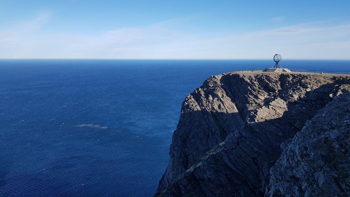 Nous sommes au Cap Nord !