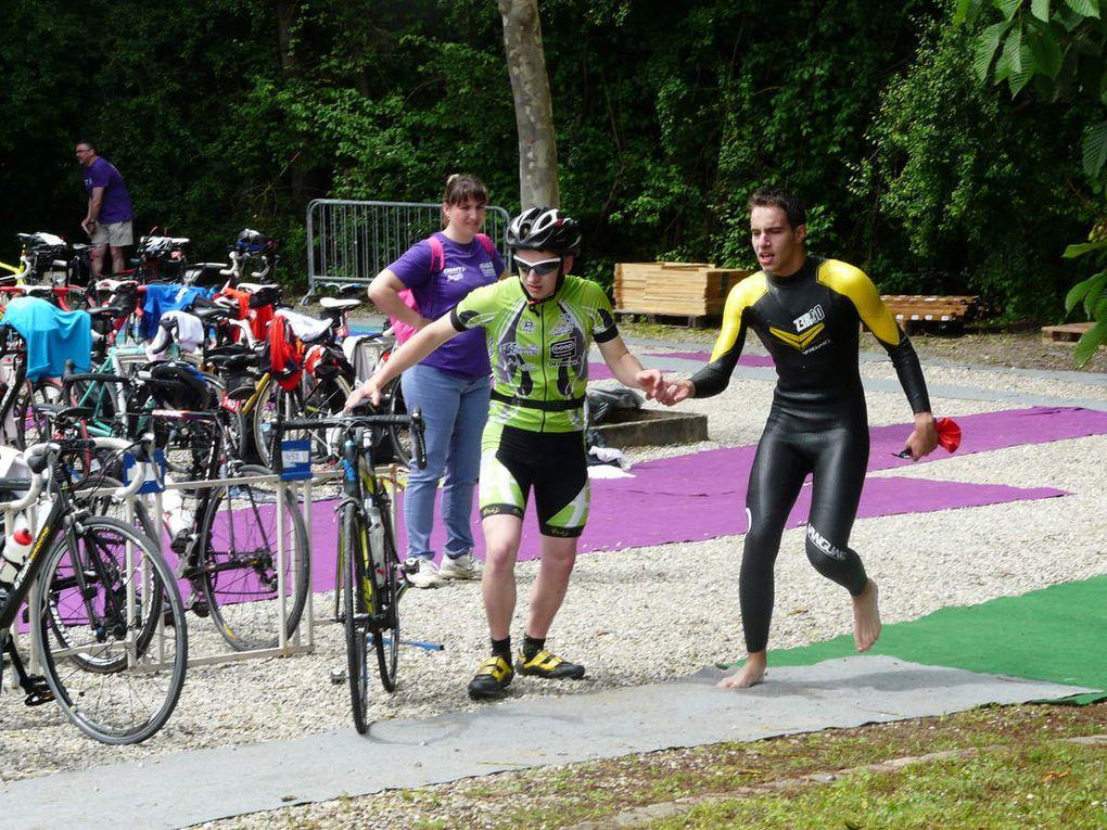 Triathlon d'Obernai-Benfeld : les dames 2èmes.