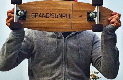 Les Bonnes Bases : skates made in France en bois (beaux de chez beaux !)