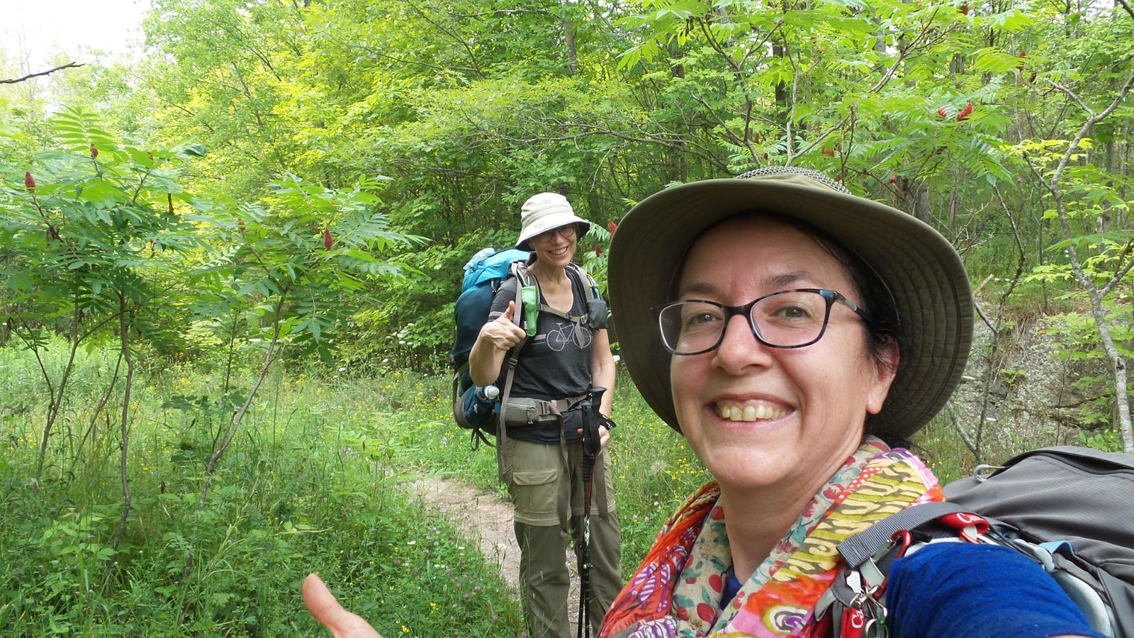 15 h: Fin de la randonnée!