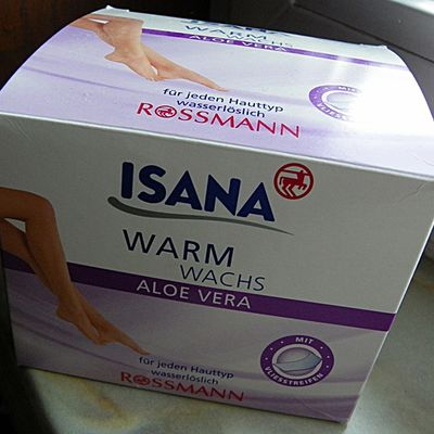 Review: Isana Warm Wachs Aloe Vera