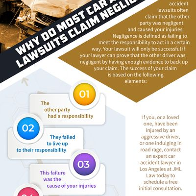 Why Do Most Car Accident Lawsuits Claim Negligence?