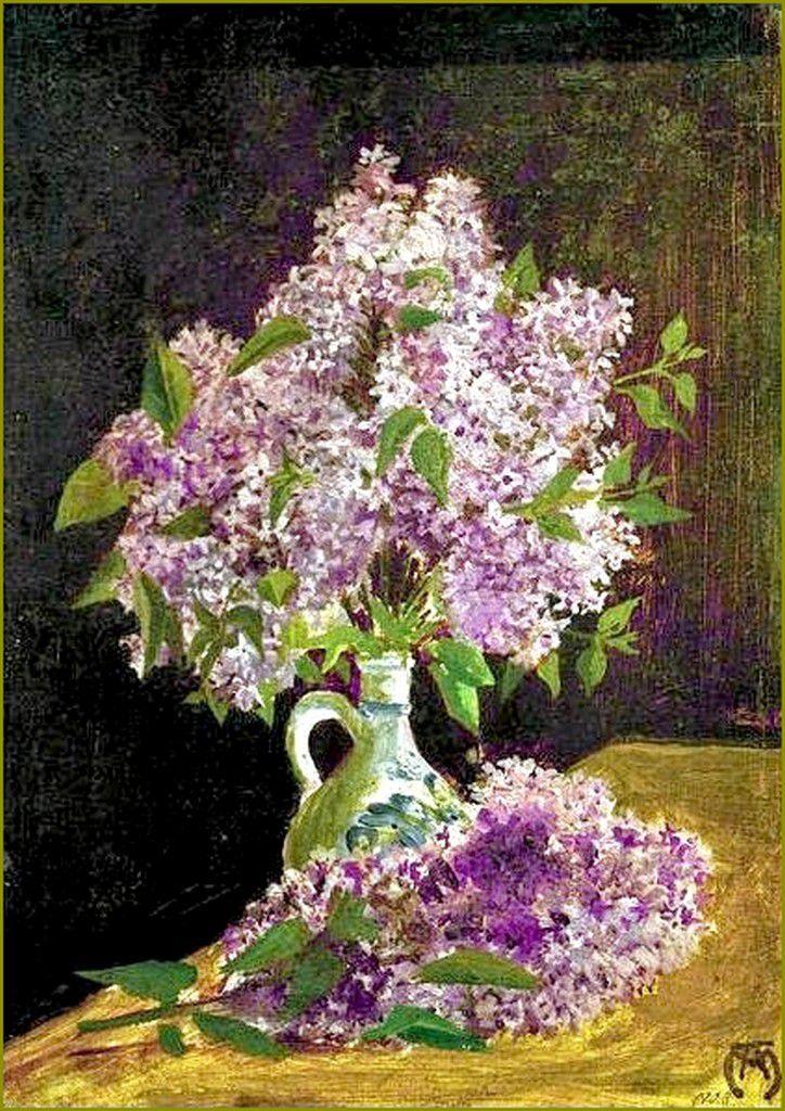 Lilas - August Macke -Fielder 1903