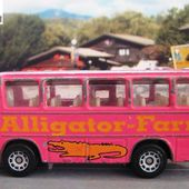 "BUS MERCEDES SIKU 1/100 ""ALLIGATOR FARM"" - AUTOCAR LA FERME AUX ALLIGATORS - car-collector.net"