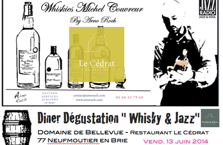 Diner + Whiskies + Trio Jazz New Yorkais au Domaine de Bellevue