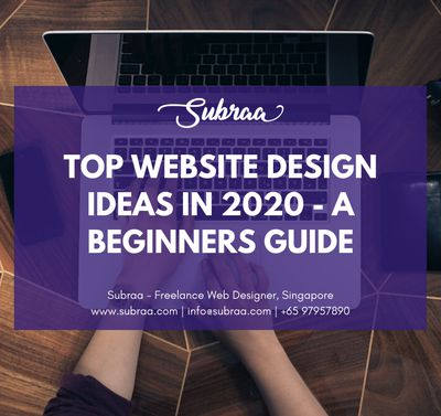 Top Website Design Ideas in 2020 - A Beginners Guide