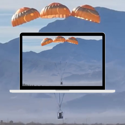 ASR Tests eFlyer 2 Parachute Recovery System