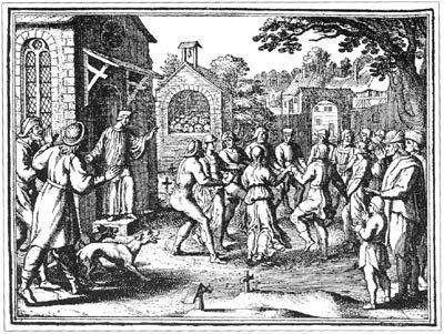 Durant l'été 1518, une épidémie de danse frappe Strasbourg.