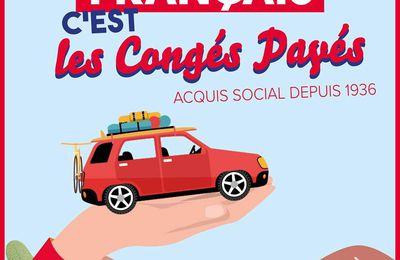 Le Parti communiste français, c'est les congés payés !