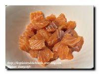Mousse de saumon aux crevettes