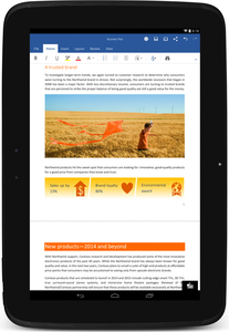 Microsoft lance Outlook sur tablettes iOS et Android