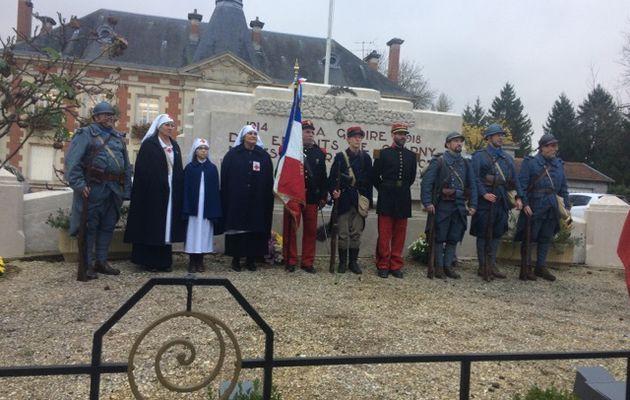 Une commémoration à Charny : Garance à l'honneur