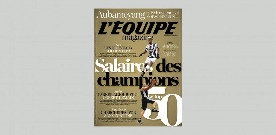 L'Équipe Magazine dévoile le TOP 50 des sportifs français les mieux payés !