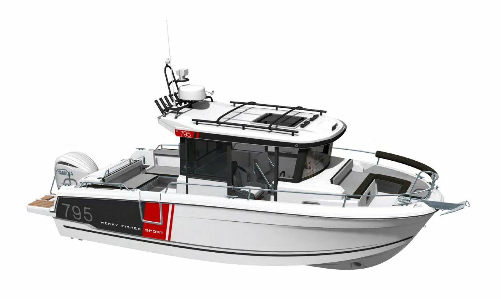 Ny motorbåt 2021 - Jeanneau Merry Fisher Sport 795 Serie 2