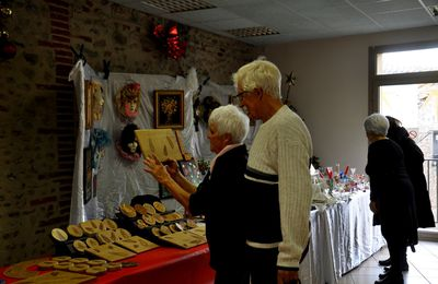 Le marché de Noël pour l'association Latour des chats à Latour Bas Elne en 40 photos