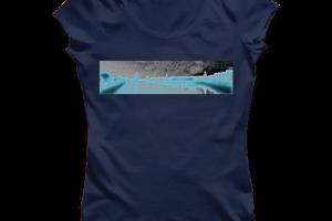 T-shirt: France - Poitou-Charentes - La Rochelle - Photo Néon.