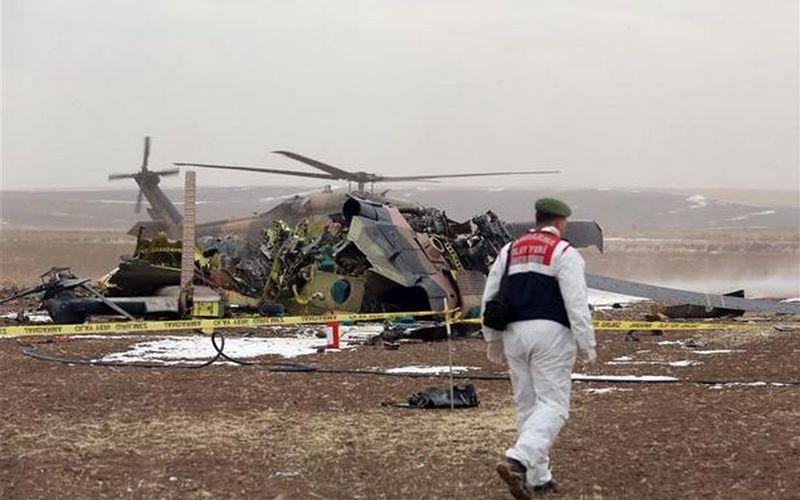 Le crash d'un hélicoptère turc tue les quatre soldats