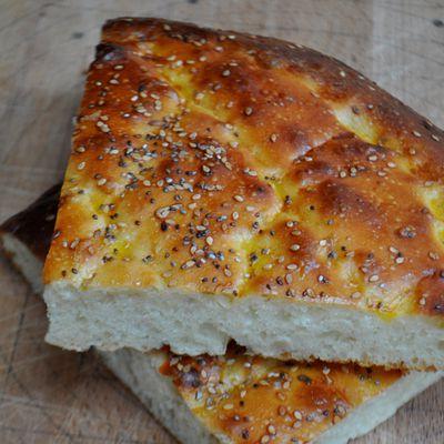 Pain brioché turc: pâte sans pétrissage