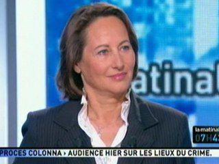"""Passage de Ségolène ROYAL dans """"la matinale"""" ce matin 07/06/11 sur Canal +"""