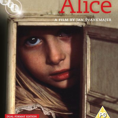 Alice de Jan Svankmajer en Blu-ray UK