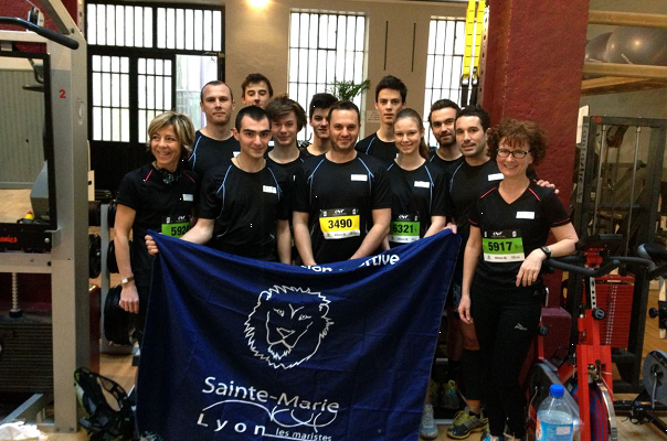 La Team Mariste participe au Lyon Urban Trail /..../ Marist Team takes part in Lyon Urban Trail
