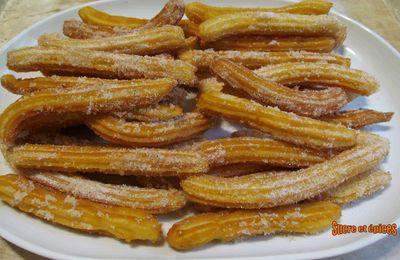 Churros espagnols - recette facile