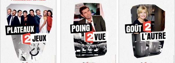 """France 2 lance une nouvelle campagne d'affichage """"Plus 2 passion"""""""