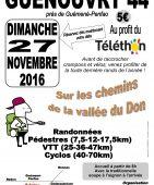 sur les chemins de la vallee du don, Guenouvry (Sortie VTT du 27/11/2016 / Ref. : 45554)